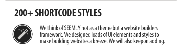 Seemly HTML5 Template Shortcodes