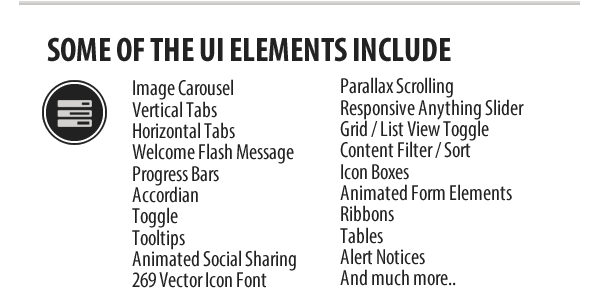 Seemly HTML5 Template UI Elements