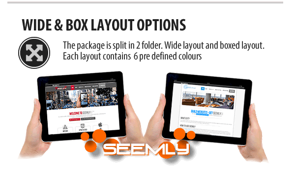 Seemly HTML5 Responsive Template Layouts