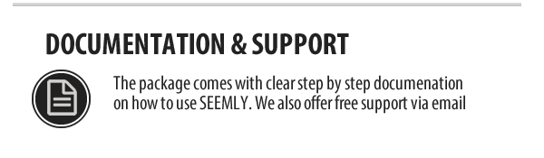 Seemly HTML5 Responsive Template Support