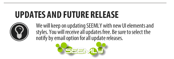 Seemly HTML5 Responsive Template Updates